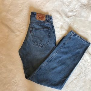 Levi's 550 Relaxed Fit Jeans 29x32
